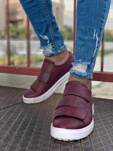 Chekich Casual Ayakkabı Bordo